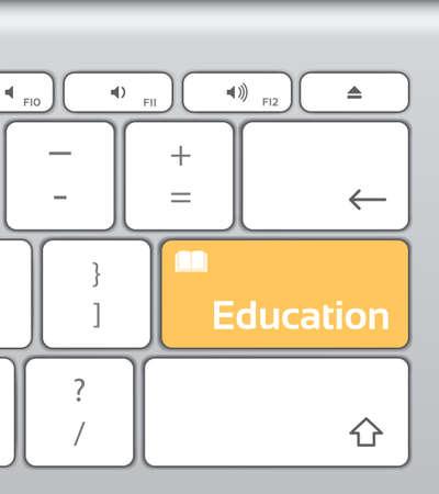 enter button: Education Enter Button Keyboard