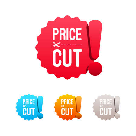 price cut: Price Cut Labels
