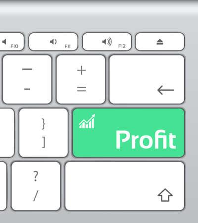 profit: Profit Enter Button Keyboard