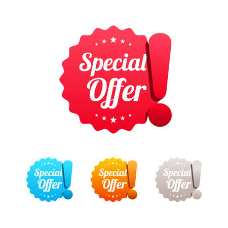 Special Offer Labels