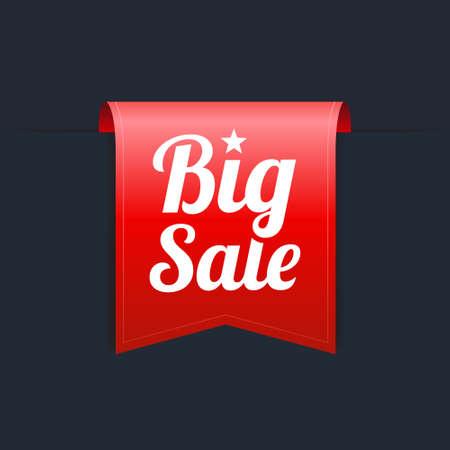 red label: Big Sale Red Label