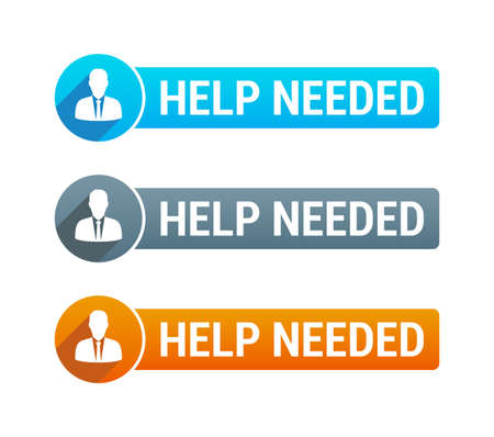 needed: Help Needed Banner Illustration