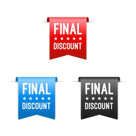 final: Final Discount Labels Illustration