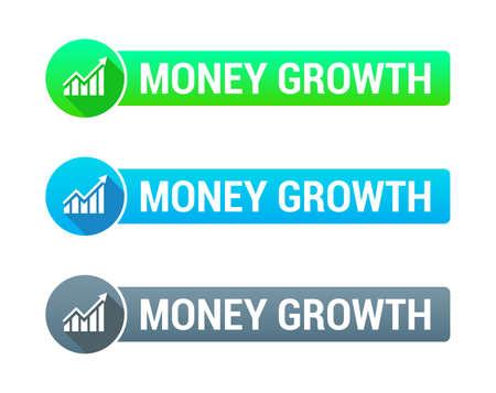 grow money: Money Growth Banner