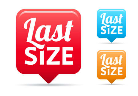 size: Last Size Tags