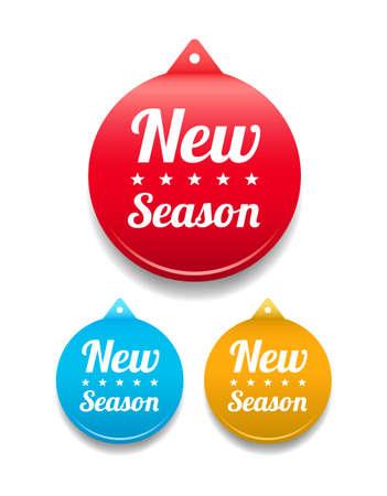 tag: New Season Round Tag