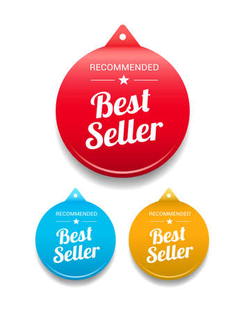 at best: Best Seller Round Tag