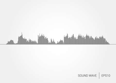 abstract music: Sound Wave