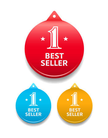 seller: Best Seller Round Tag