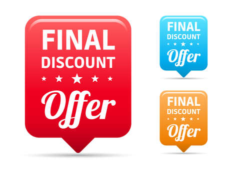 final: Final Discount Offer Tags Illustration