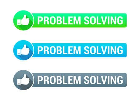 problem solving: Problem Solving Banner