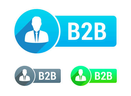 b2b: B2b Banner Illustration
