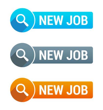 new employees: New Job Banner Illustration