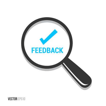 feedback: Feedback Magnifying Glass