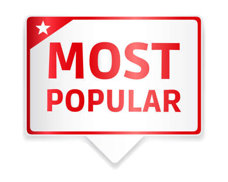 most popular: Most Popular Red Tag