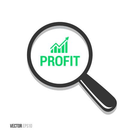 profiting: Profit Magnifying Glass