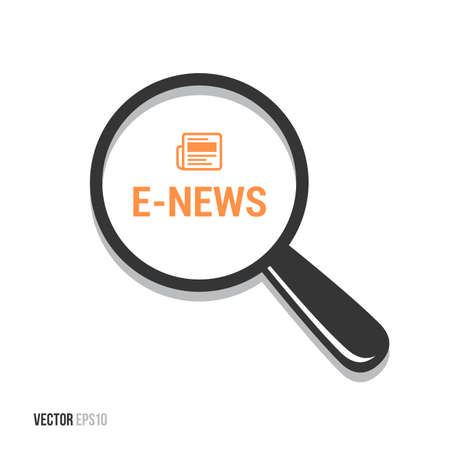 good break: E-News Magnifying Glass