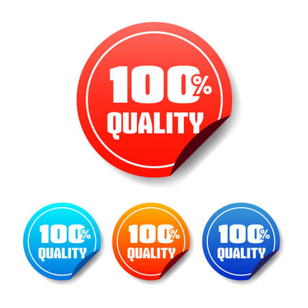 hundred: 100 Quality Round Stickers