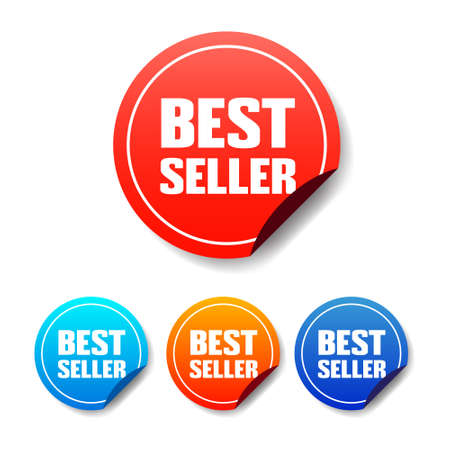 seller: Best Seller Round Stickers