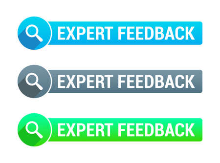 feedback: Expert Feedback Banner Illustration