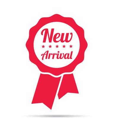arrivals: New Arrival Ribbon