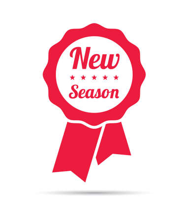 season: New Season Ribbon