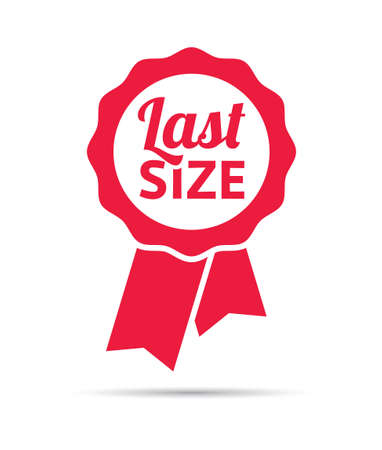 size: Last Size Ribbon