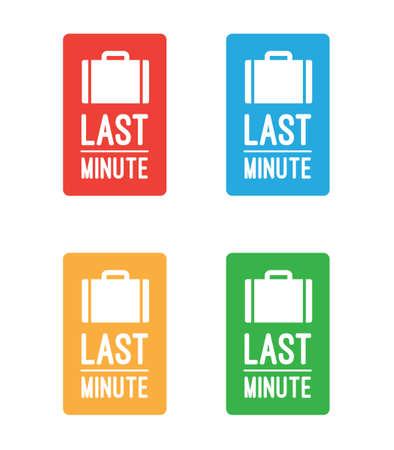 minute: Last Minute Tickets Illustration