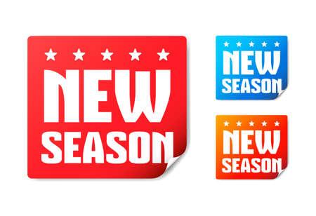 season: New Season Stickers