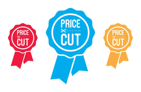 price cut: Price Cut Ribbons