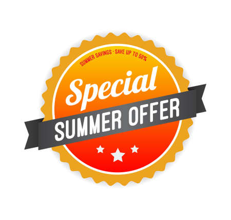 Special Summer Offer Badge