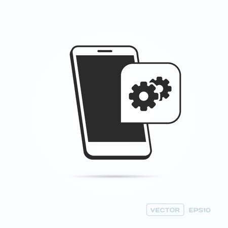 configuration: Phone Support & Configuration Icon