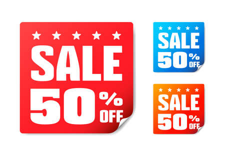 50 off: Sale 50 Off Stickers