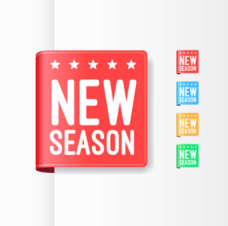 season: New Season Ribbons