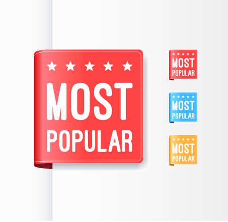 popular: Most Popular Ribbons Illustration