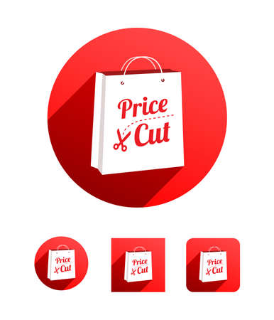 price cut: Price Cut Shopping Bag