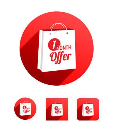 month: 1 Month Offer Shopping Bag