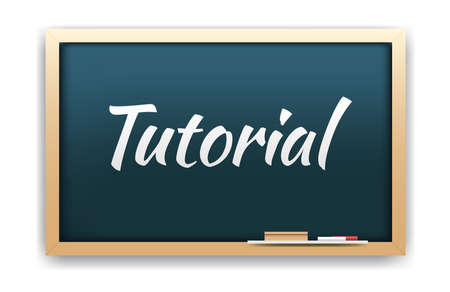 tutorial: Tutorial Chalkboard