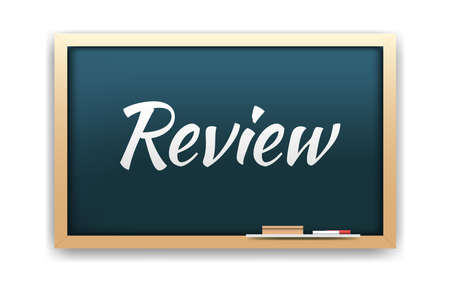 review: Review Chalkboard