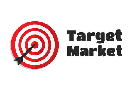 Mercado Objetivo Objetivo Icono