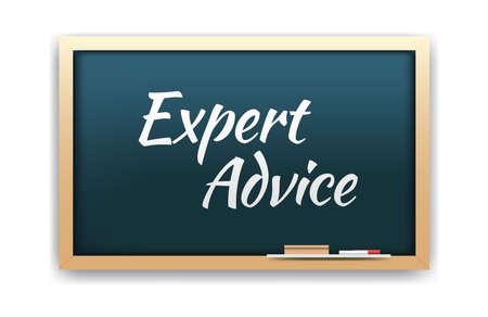 Conseil d'Expert Chalkboard