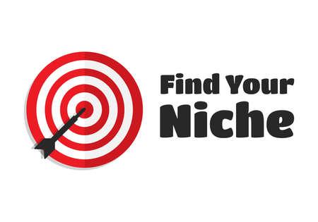 niche: Find Your Niche Target Aim Icon