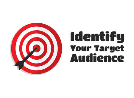 identify: Identify Your Target Audience Aim Icon