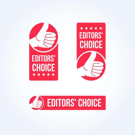 Choice etiquetas de los redactores