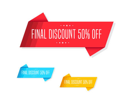 50  off: Final Discount 50% Off Tags
