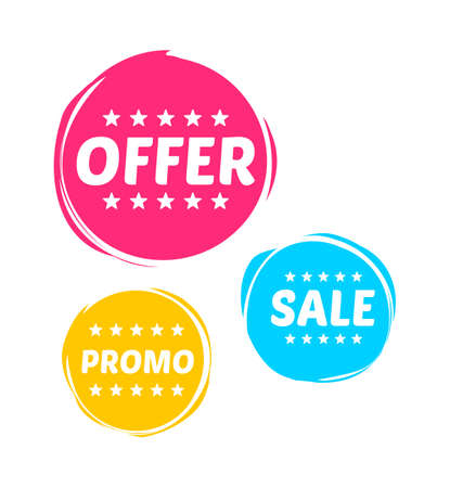 Offer, Sale & Promo Marks