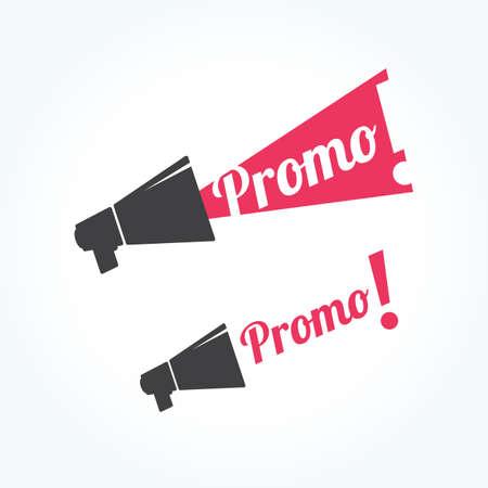 promo: Promo Megaphone Icon