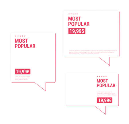 most popular: Most Popular Price Tags