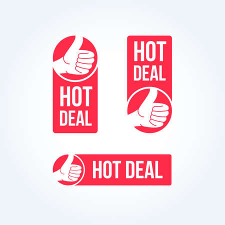 the hot: Hot Deal Labels