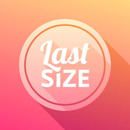 size: Last Size Label